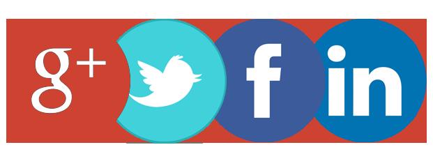 Image result for google twitter facebook linkedin