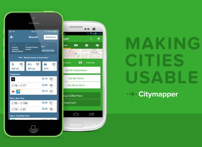 Citymapper banner