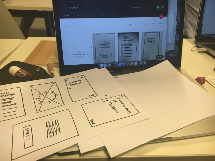 Paper-prototyping
